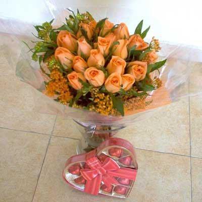 זר 5  - פרחי אביה - ירושלים