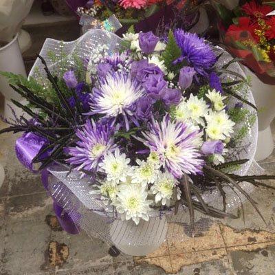 זר פרחים 5 - פרחי ענבל - רמלה