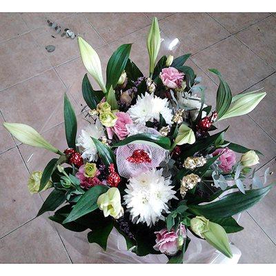 זר פרחים 5 - פרחי דליה – לוד - לוד