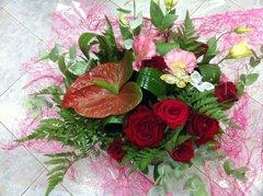 זר 6 - פרחי ספיר - באר שבע