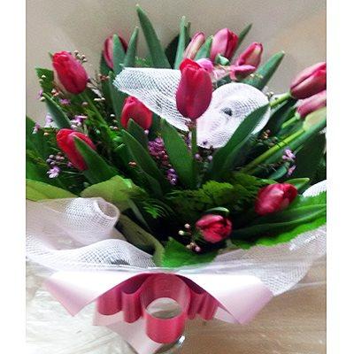 זר פרחים 6 - פרחי דליה – לוד - לוד