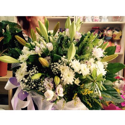 זר פרחים 7 - פרחי ענבל - רמלה