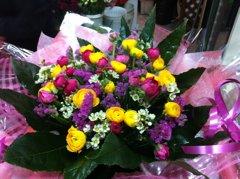 זר 8 - פרחי ספיר - באר שבע