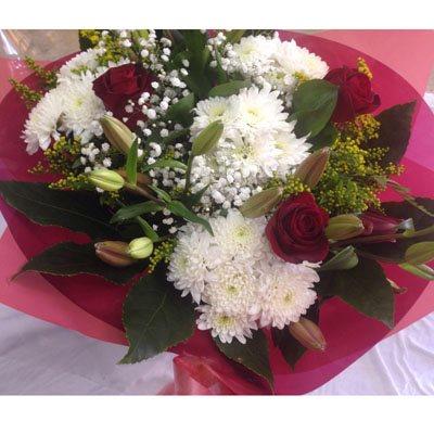זר פרחים 8 - פרחי ענבל - רמלה