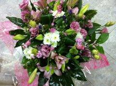 זר 9 - פרחי ספיר - באר שבע