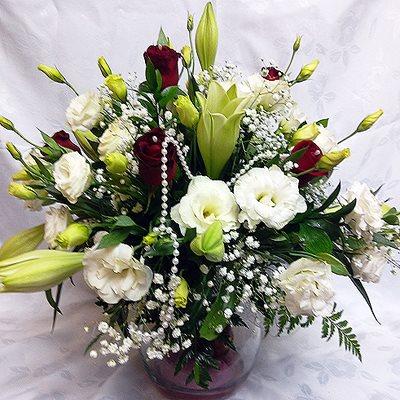 זר פרחים 9 - פרחי דליה – לוד - לוד