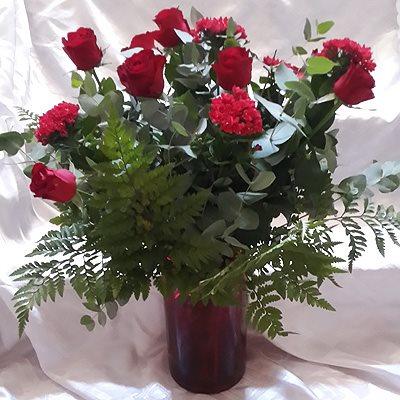 אהבה באדום - פרחי גולד - רחובות