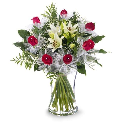בורדו אלגנטי - פרחי עירית - פתח תקווה