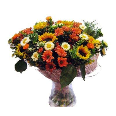 זר אביבי - תלתן פרחים - צפת