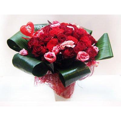 זר אהבה - תלתן פרחים - צפת