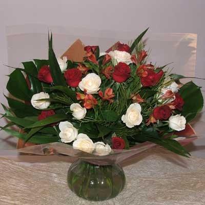 זר אהבה - פרחים קוליברי - רמת גן