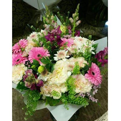 זר פרחים 4 - פרחי גולד - רחובות