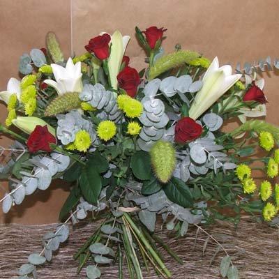 זר קלאסי משולב - פרחים קוליברי - רמת גן
