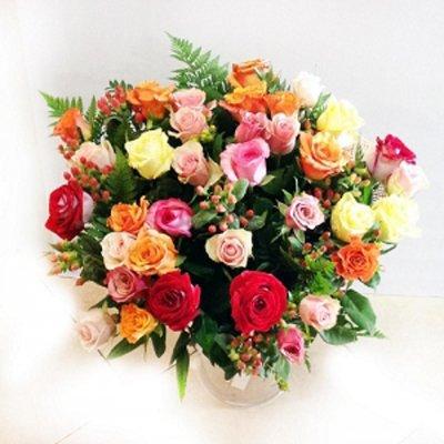 מיקס ורדים - תלתן פרחים - צפת