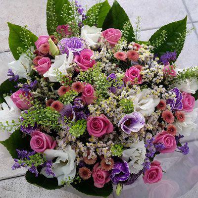 זר שירת הפרחים - פלורנס פרחים - נהריה
