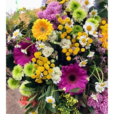זר צבעוני - בשביל הפרחים - תל אביב