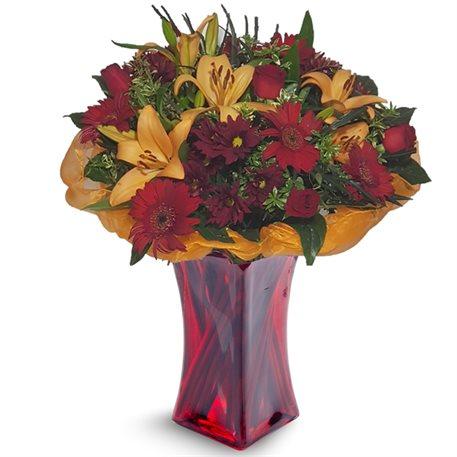 זר שעת דמדומים - פרחי לב הגליל - טבריה