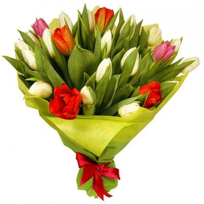 זר צבעונים חגיגי - פרחי עירית - פתח תקווה