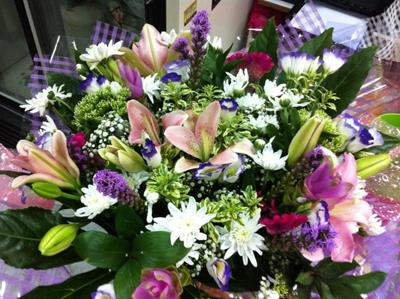 זר 27 - פרחי ספיר - באר שבע