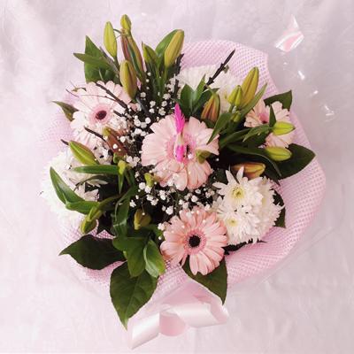 זר פרחים 16 - פרחי דליה – לוד - לוד