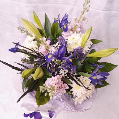 זר פרחים 18  - פרחי דליה – לוד - לוד