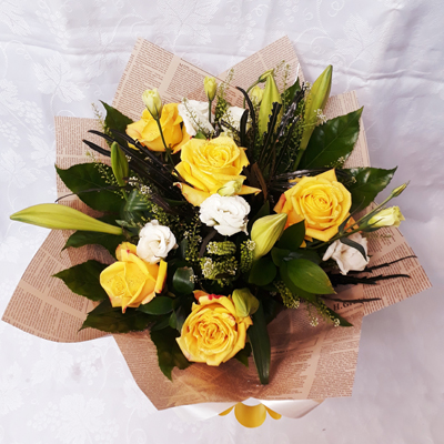 זר פרחים 19 - פרחי דליה – לוד - לוד