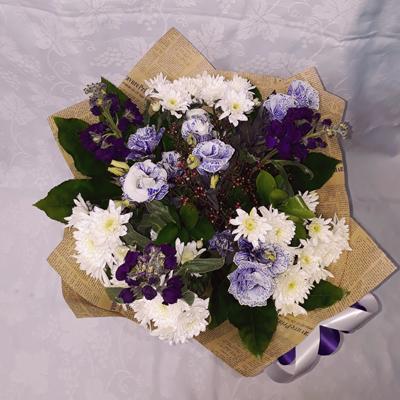 זר פרחים 20 - פרחי דליה – לוד - לוד