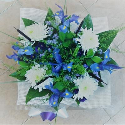 זר פרחים 24 - פרחי דליה – לוד - לוד