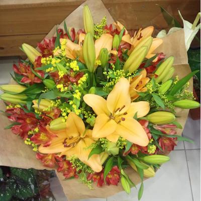 זר 10 - רעותה פרחים - רמת ישי