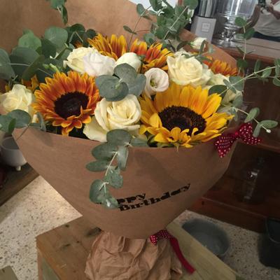 זריחת השמש - פרחי סיתוונית - אשקלון