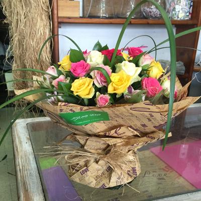זר מהכפר - פרחי סיתוונית - אשקלון