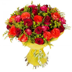 פריחה באדום - חיה'לה פרחים - חיפה