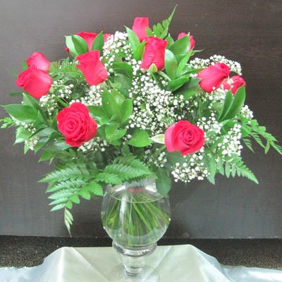 ורדים אדומים - פרח באהבה - אילת