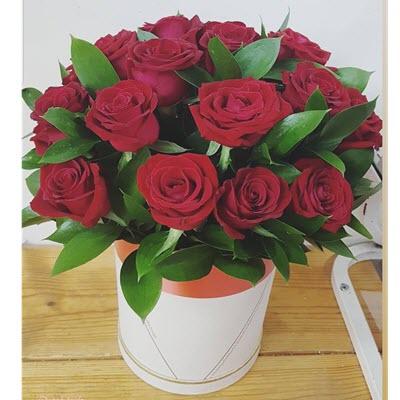פלאוורס בוקס ורדים - פרח באהבה - אילת