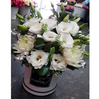 פלאוורס בוקס לבן - פרח באהבה - אילת