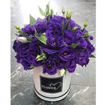 פלאוורס בוקס סגול - פרח באהבה - אילת