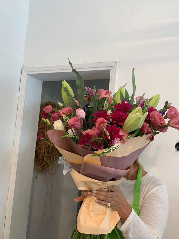 זר של אהבה - פרחי סיתוונית - אשקלון