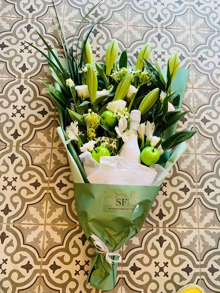 לשנה חדשה - פרחי סיתוונית - אשקלון