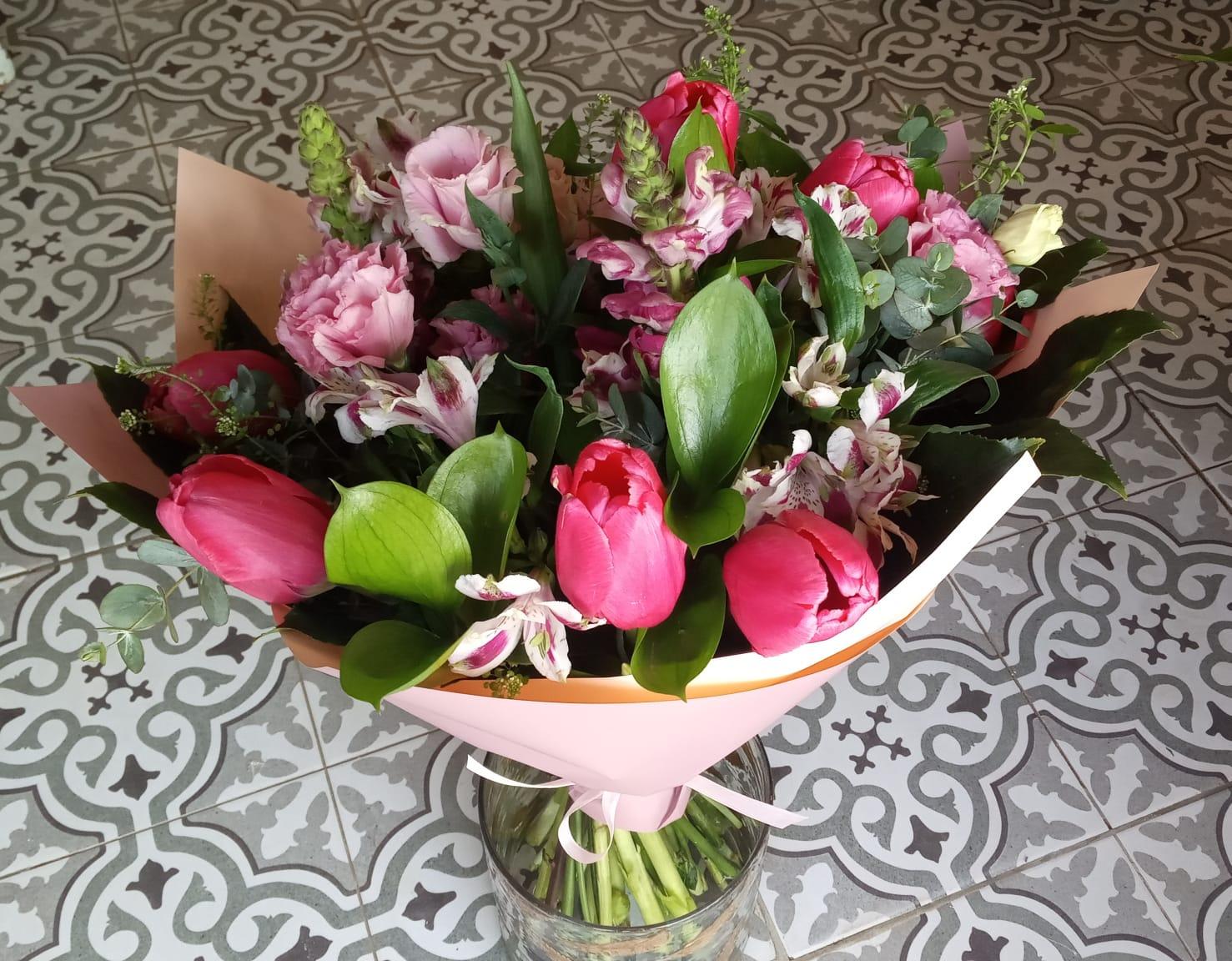 זר וורודים - פרחי סיתוונית - אשקלון
