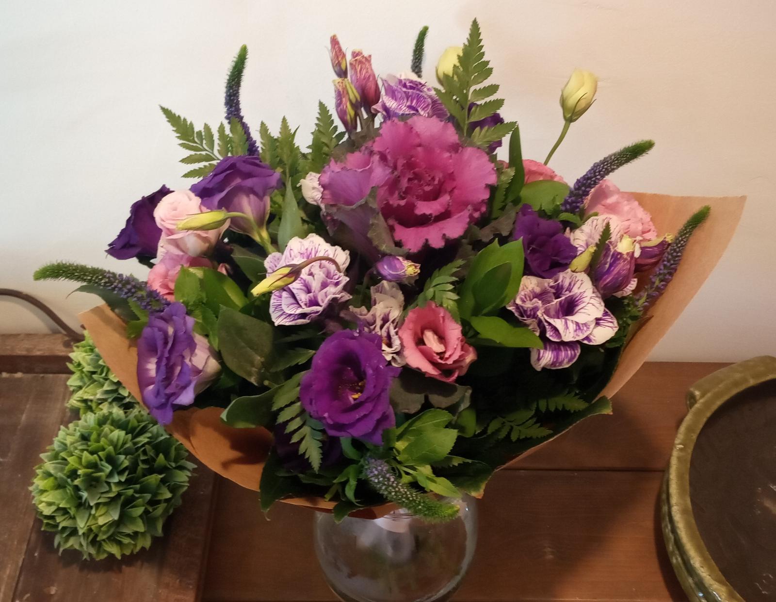 ורוד וסגול זה הכי - פרחי סיתוונית - אשקלון