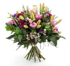 פרחים בורוד סגול - פרחים רמת החייל TLV - תל אביב