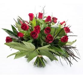 זר ורדים באהבה - פרחים רמת החייל TLV - תל אביב