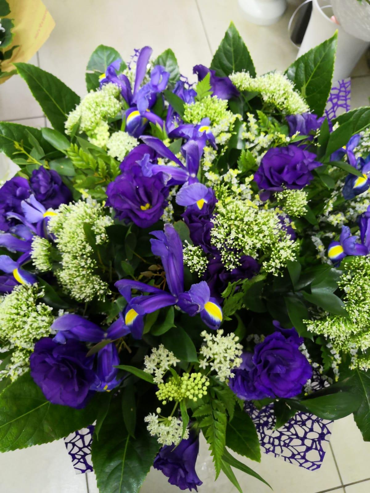 זר 25 - פרחי ענבל - רמלה