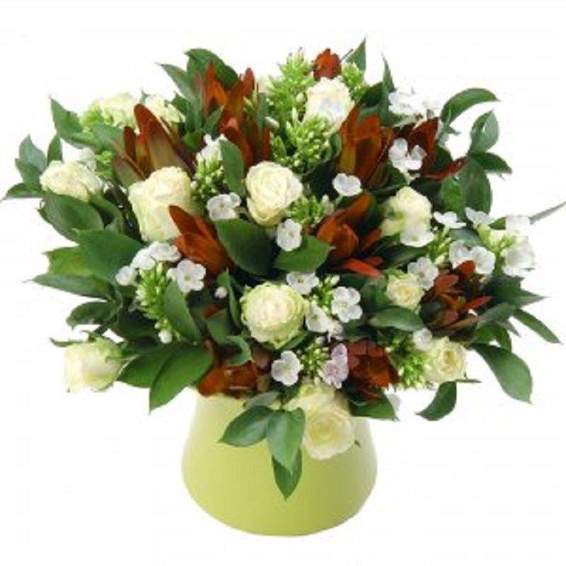 זר פרחים אלגנטי - פרחי הדר - מושב צור משה