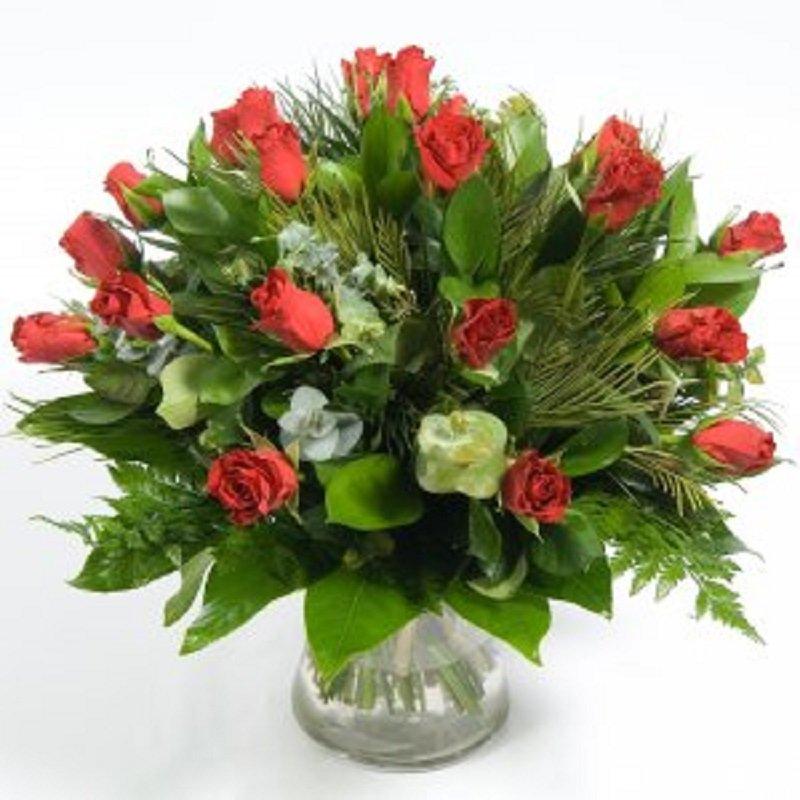 זר פרחים רומנטי - פרחי הדר - מושב צור משה