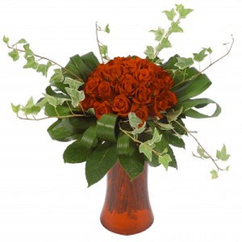 זר פרחים צפוף - פרחי הדר - מושב צור משה