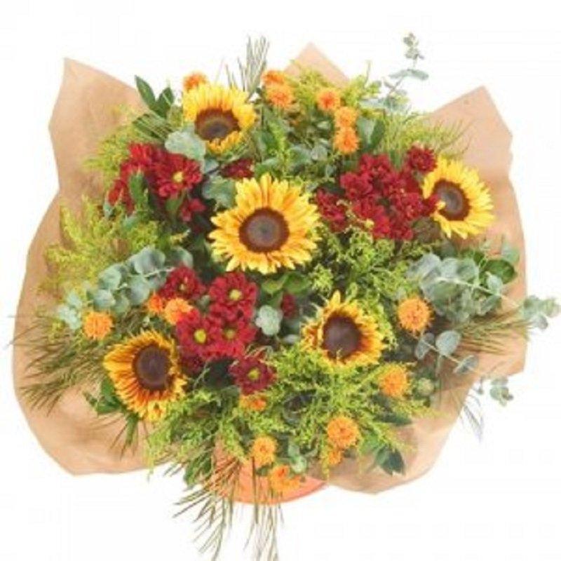 זר פרחים פראי - פרחי הדר - מושב צור משה
