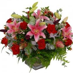 זר פרחים פנטזיה - פרחי הדר - מושב צור משה