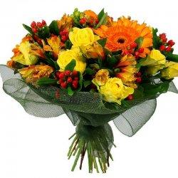 זר פרחים אוהב - פרחי הדר - מושב צור משה