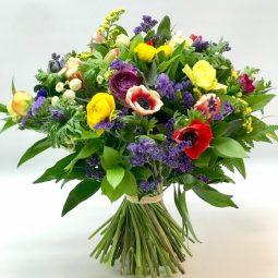 גבעת כלניות - אורכידאה פרחים - חדרה